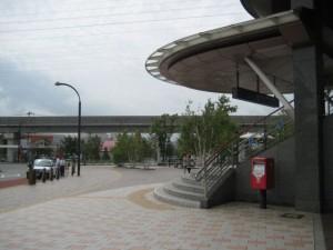 長野県佐久平駅前周辺