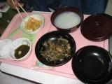 院内食(牛肉スタミナ焼)-時事戯言!炎症性腸疾患(クローン病)