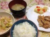 豚の生姜焼きと野菜炒め-時事戯言!炎症性腸疾患(クローン病)