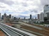 グランフロント大阪からの景色