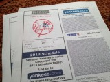 New York Yankees戦チケット-時事戯言!炎症性腸疾患(クローン病)