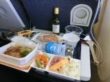 ANA機内食ミラノ風若鶏のカツレツ