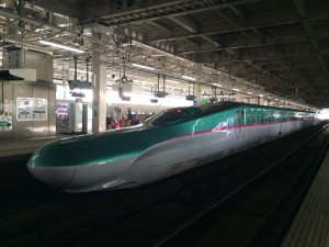 東北新幹線・仙台駅