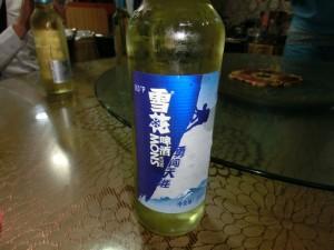 雪花啤酒(シュエホァビール)