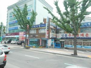 韓国町並み