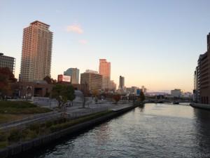 大阪中之島近辺