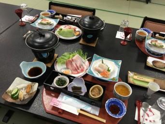 瀬美温泉料理