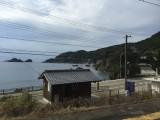 くろしお号からの車窓風景