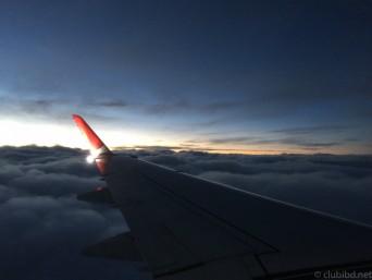 飛行機からの眺め