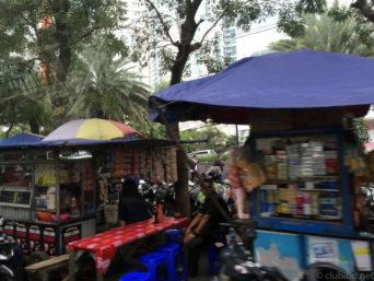 ジャカルタの街