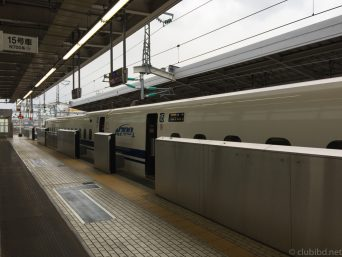 新大阪駅のぞみ212