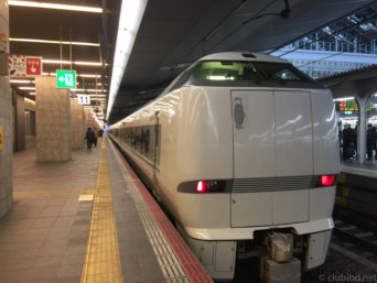 大阪駅-サンダーバード