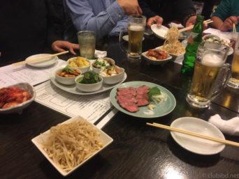 大阪天満の源兵衛焼肉ステーキ