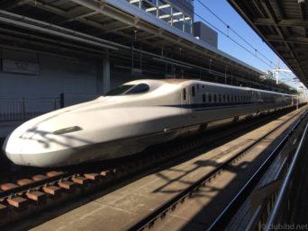 新大阪駅のぞみ