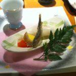 木曽路で季節の会席料理-クローン病食事110429