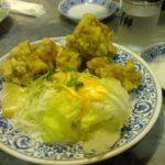 禁断の王将!やきめし、餃子、鶏のから揚げを食べる-クローン病 食事111203