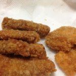久しぶりにとんかつを食べる-クローン病食事130115