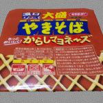 ぺヤングソース焼きそばの憂鬱-クローン病 超NG食品130302