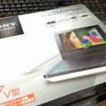 ポータブルDVDプレイヤー(Sony DVP-FX780)
