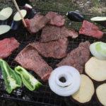 大泉緑地でバーベキューをする-クローン病患者焼肉を食べる150506