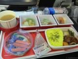 JAL 成田 JFK便機内食