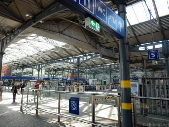 アイルランド HEUSTON駅