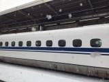 東海道新幹線雪