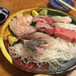 やはりお寿司屋さんの刺身は美味しい。-クローン病 食事170122