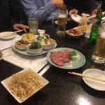 大阪天満の源兵衛焼肉ステーキを食べる。-クローン病患者NG食事祭り