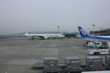 大阪伊丹空港JAL機