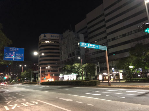 夜中の博多祇園