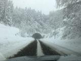 雪の北陸道