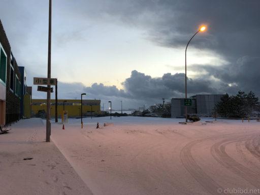 北陸道雪のインター