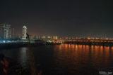 湾岸線からの夜景