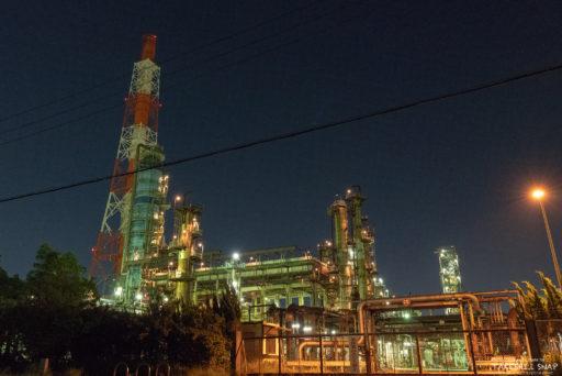 高石工場夜景