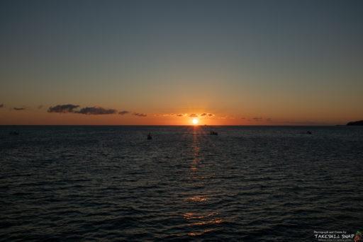 伊勢湾の初日の出