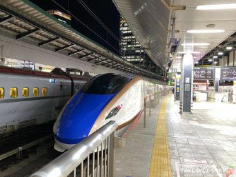 東京駅かがやき