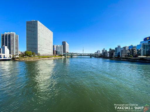 永代橋から東京スカイツリー
