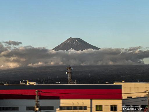 のぞみ車窓からの富士山