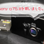 Sony-α7S III(ILCE-7SM3)を買ってしまう。高感度機が欲しかったんだ!